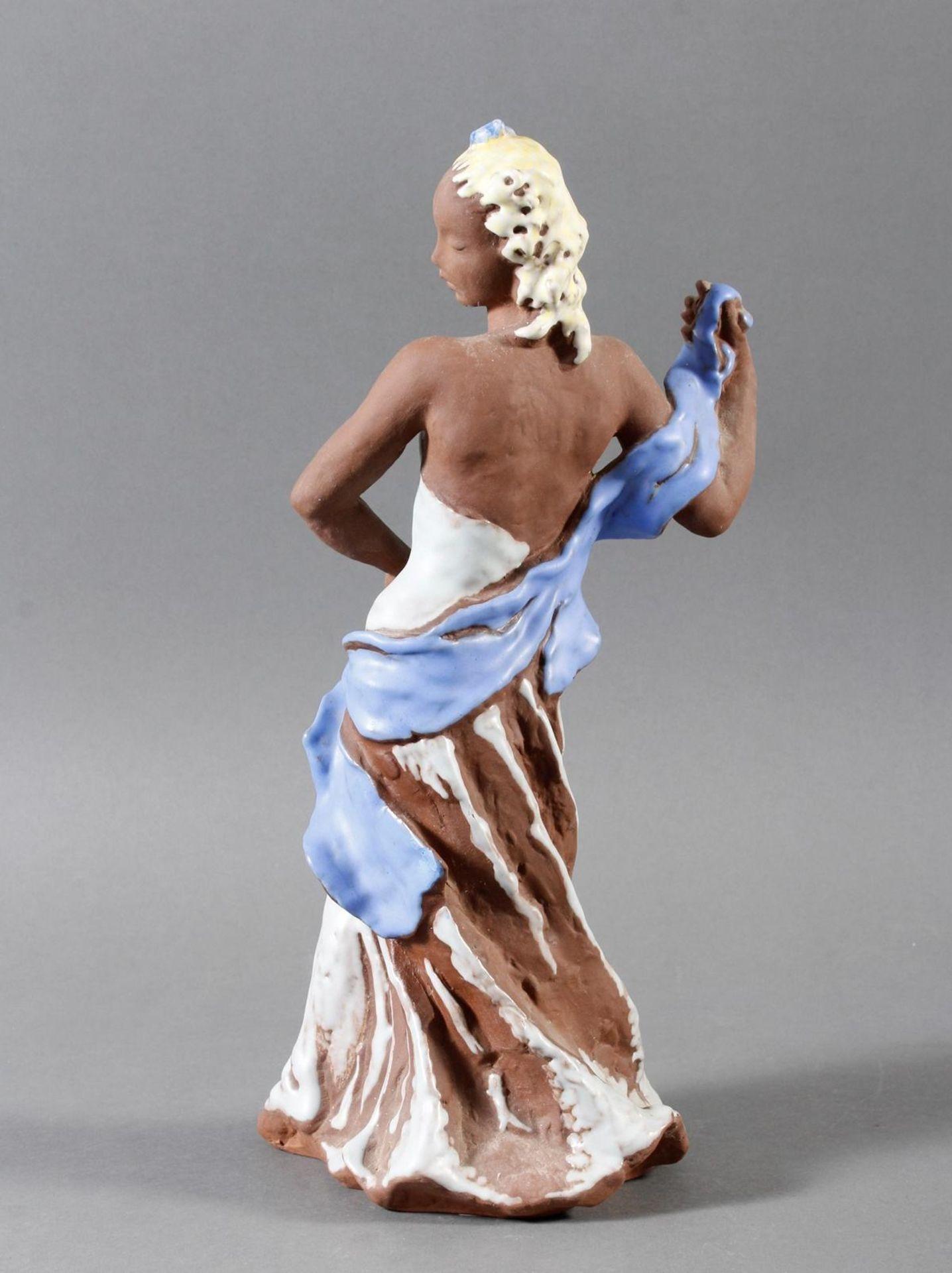 Karlsruher Majolika, Tänzerin, Nr. 6131, Lore Friedrich, Gronau 1956-62 - Bild 3 aus 7
