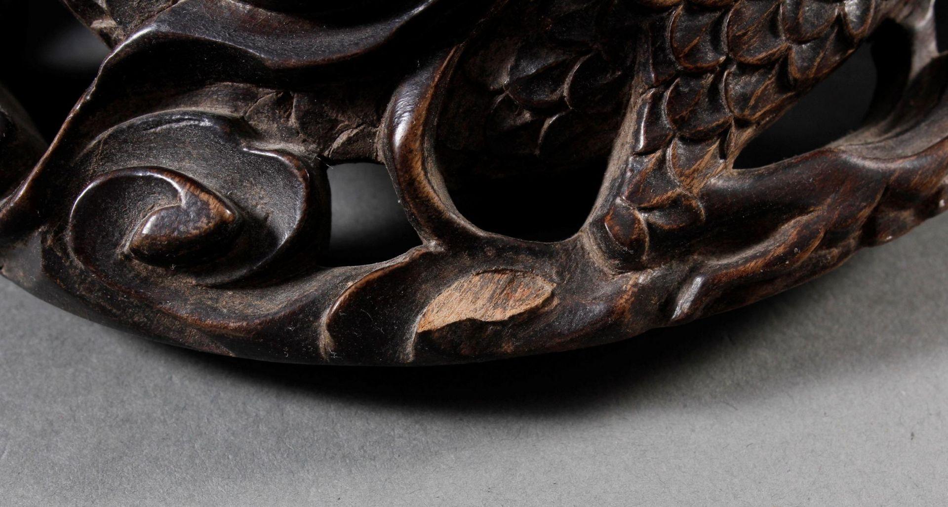 Pinselbecher mit Deckel, China ,Qing Zeit 18. / 19. Jahrhundert - Bild 10 aus 15