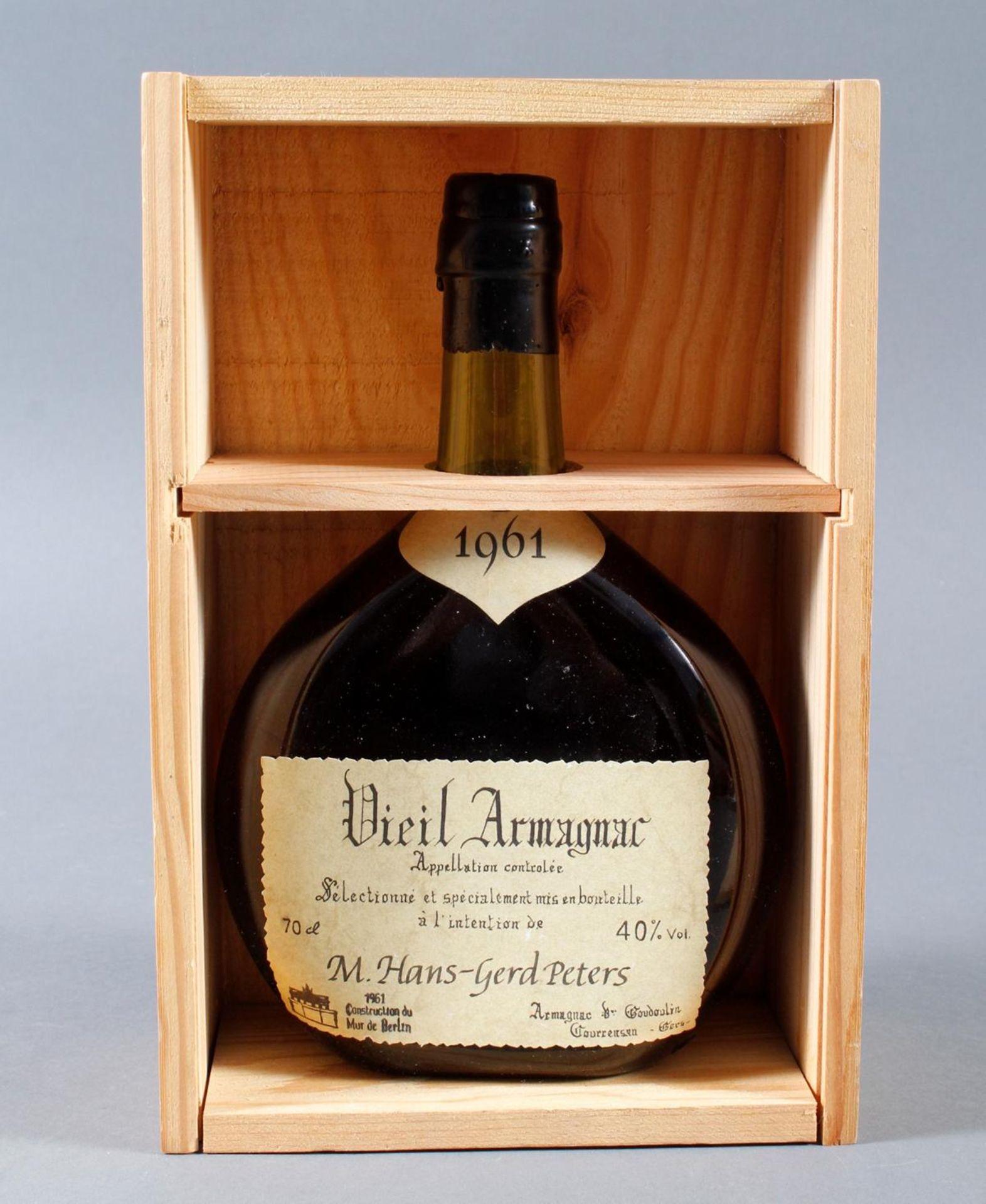 Armagnac de Goudoulin, 1961 - Bild 2 aus 2