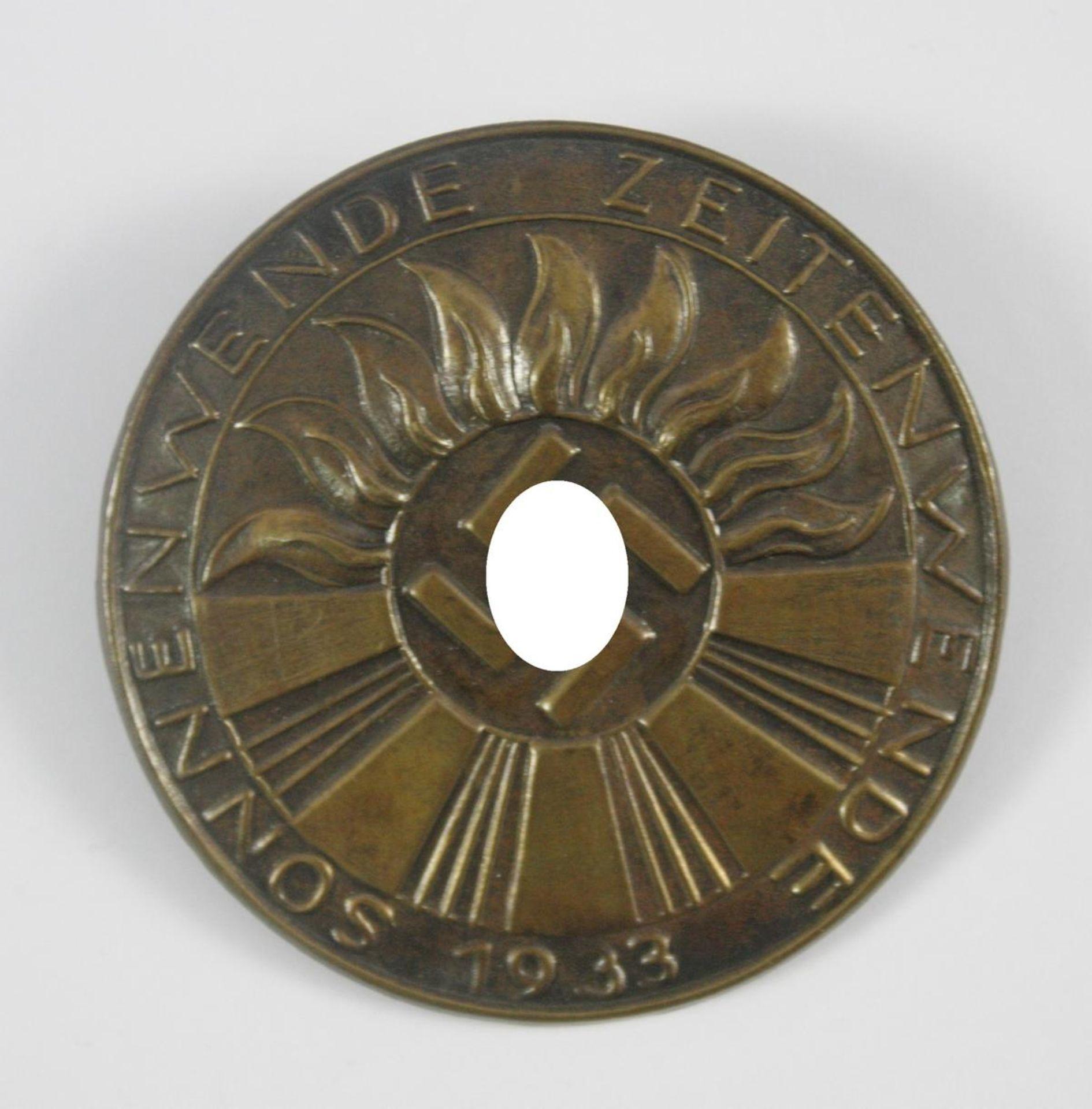Anstecker: Sonnenwende - Zeitenwende 1933