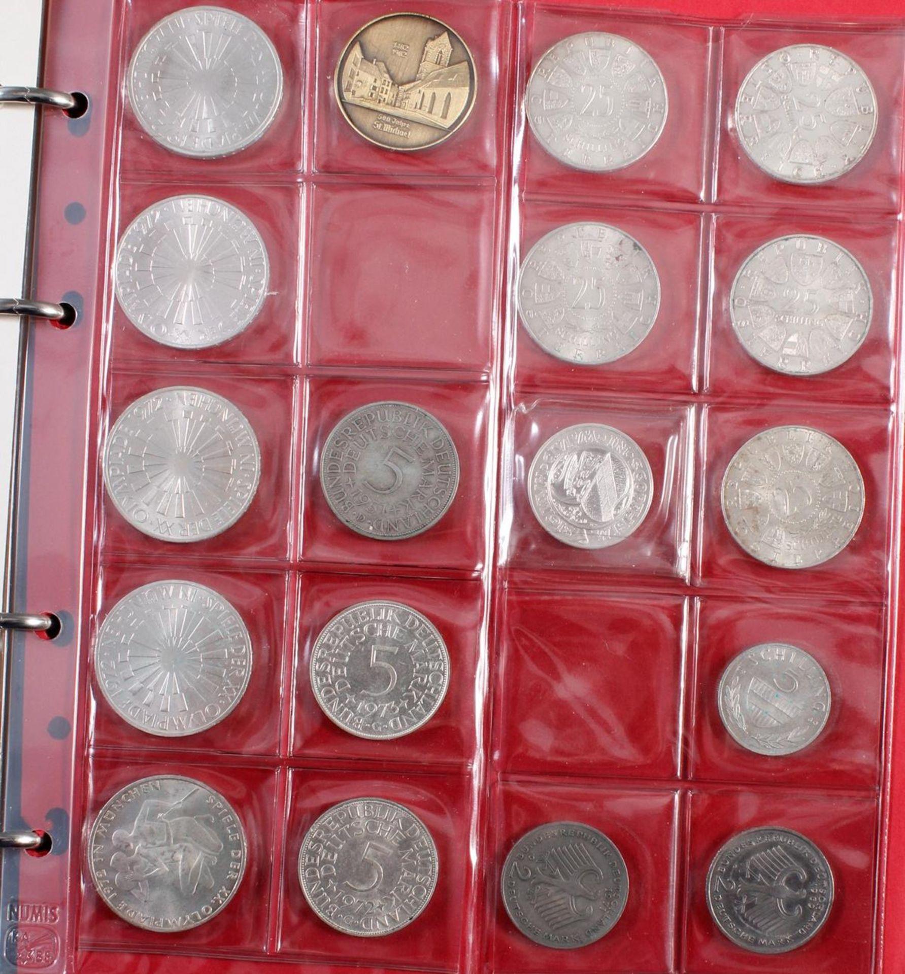 Münzsammlung BRD und alle Welt mit einer Goldmünze - Bild 5 aus 15
