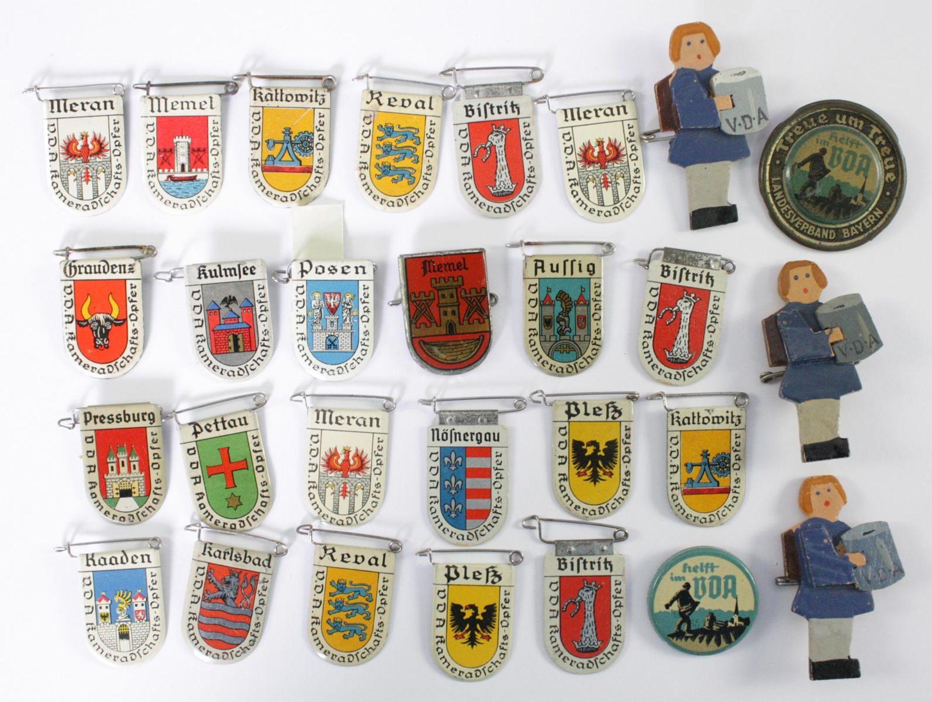 28 Abzeichen VDA - Volksbund für das Deutschtum im Ausland