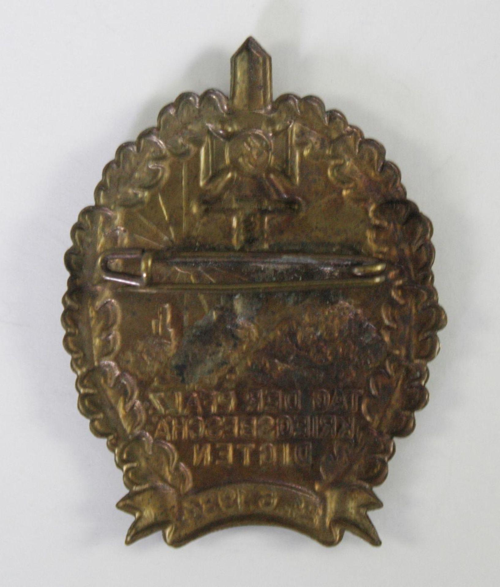 Abzeichen, NSKOV (NS-Kriegsopferversorgung) Tag der pfälzischen Kriegsbeschädigten 24.6.1934 - Bild 2 aus 2