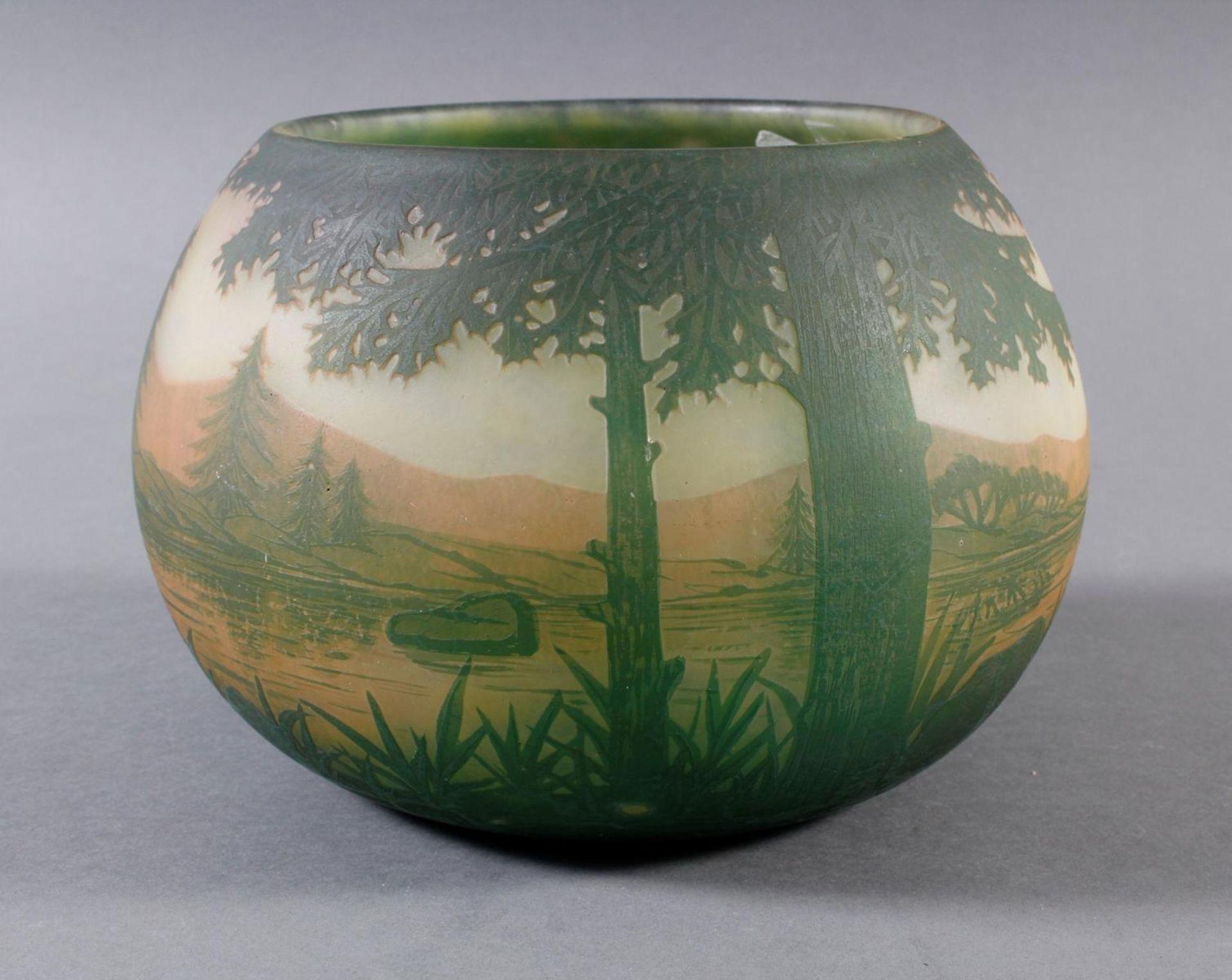 Daum Nancy, Vase Frankreich um 1900 - Bild 4 aus 9