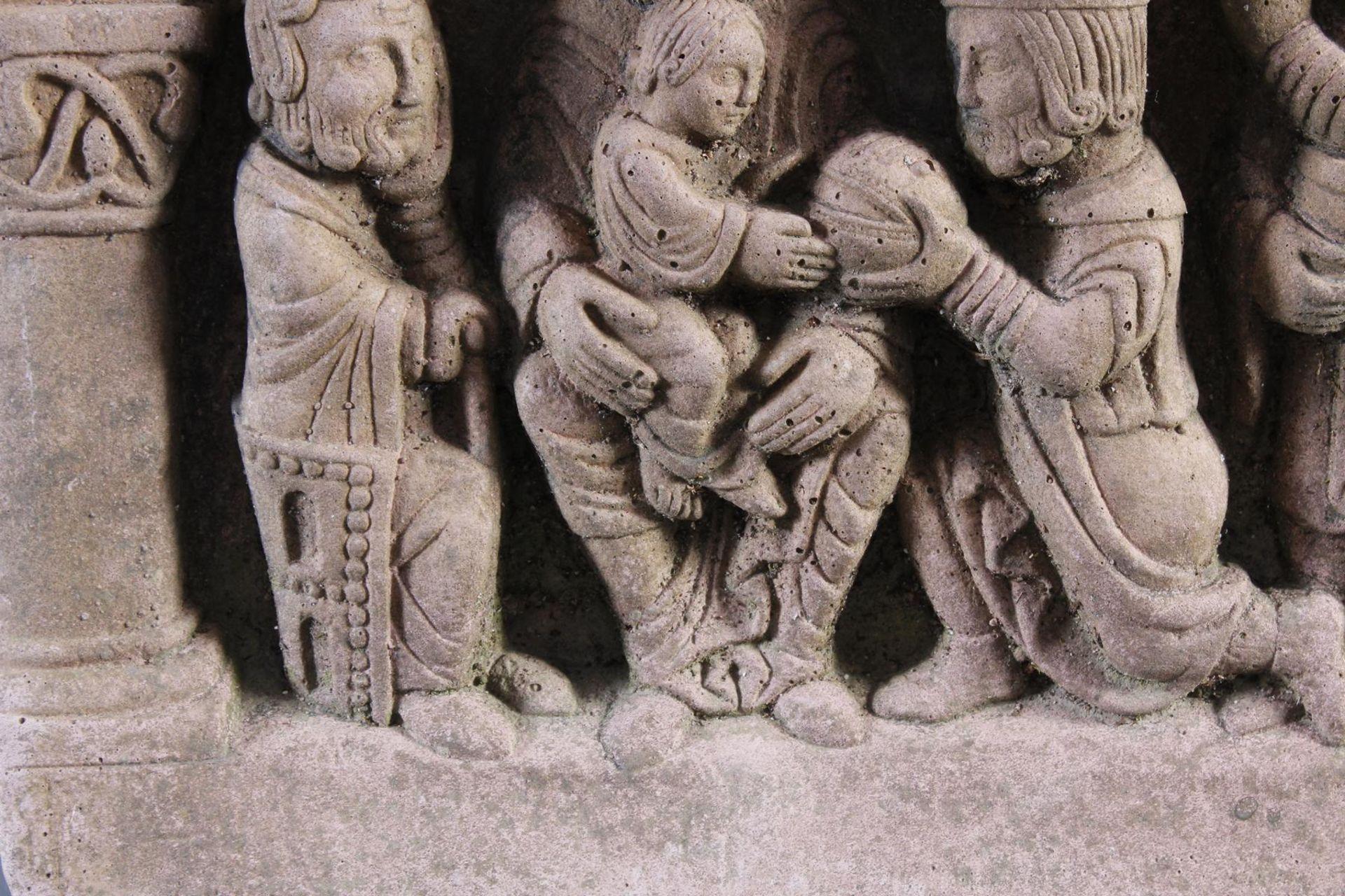 Sandstein Gussrelief - Bild 6 aus 10