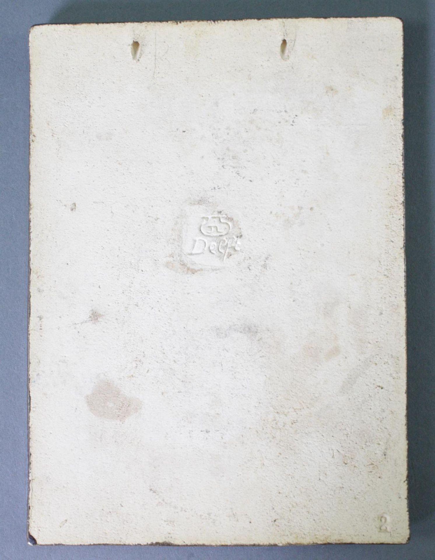 Wandkachel, H.J. Tieman, Delft - Bild 2 aus 3