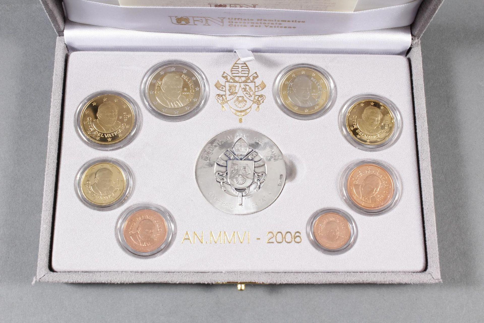 Vatikan PP KMS (Kursmünzensatz) 2006 - Bild 2 aus 4
