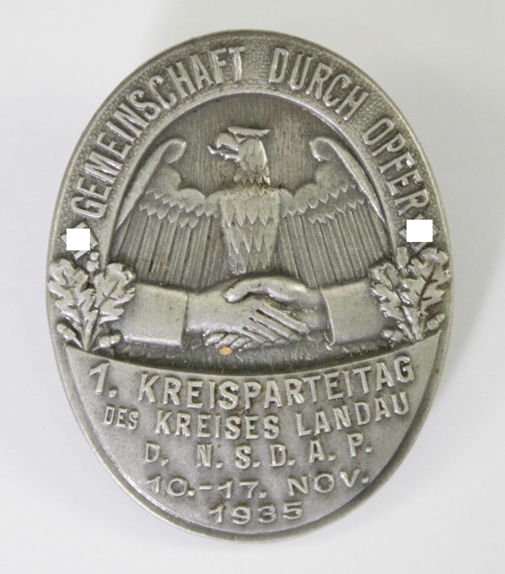 Abzeichen, 1. Kreisparteitag des Kreises Landau d. NSDAP 1935