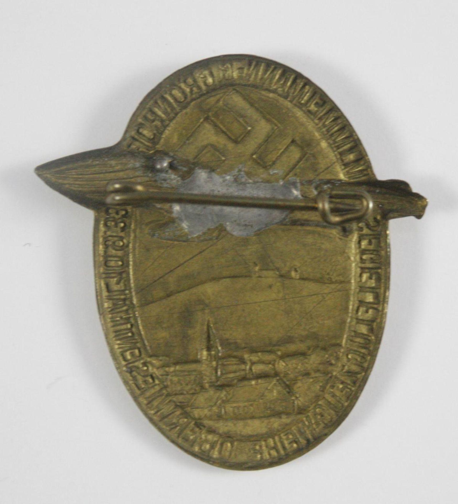 Abzeichen: Segelflugzeugweihe Oberwiesenthal 10.9.33 - Bild 2 aus 2