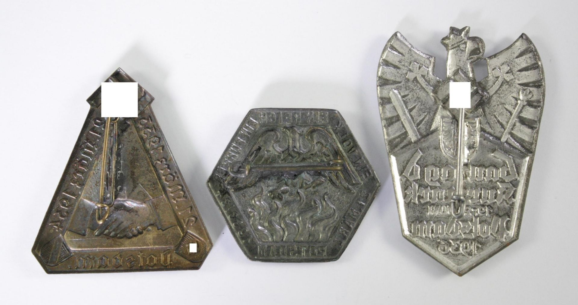 3 Abzeichen Thema Potsdam - Bild 2 aus 2