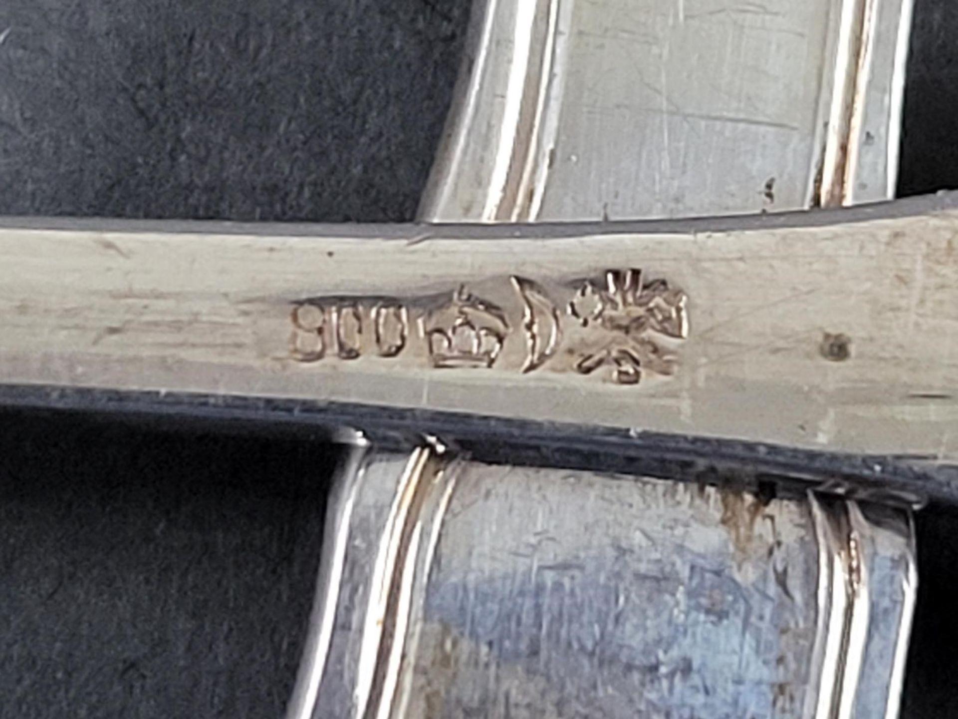 6 Hummergabeln, 800er Silber - Bild 3 aus 3