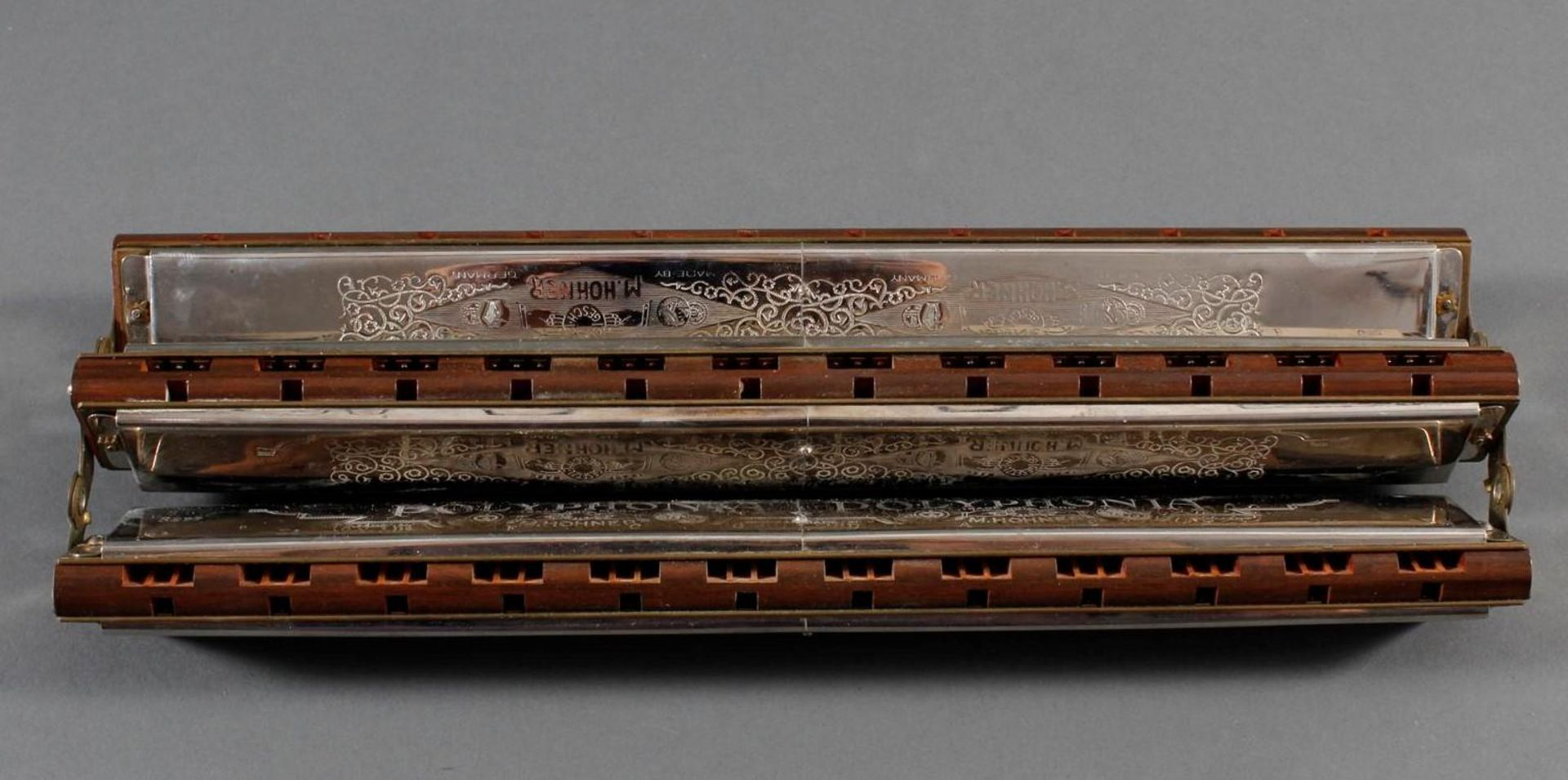 Hohner Triple Bass Mundharmonika - Bild 4 aus 6