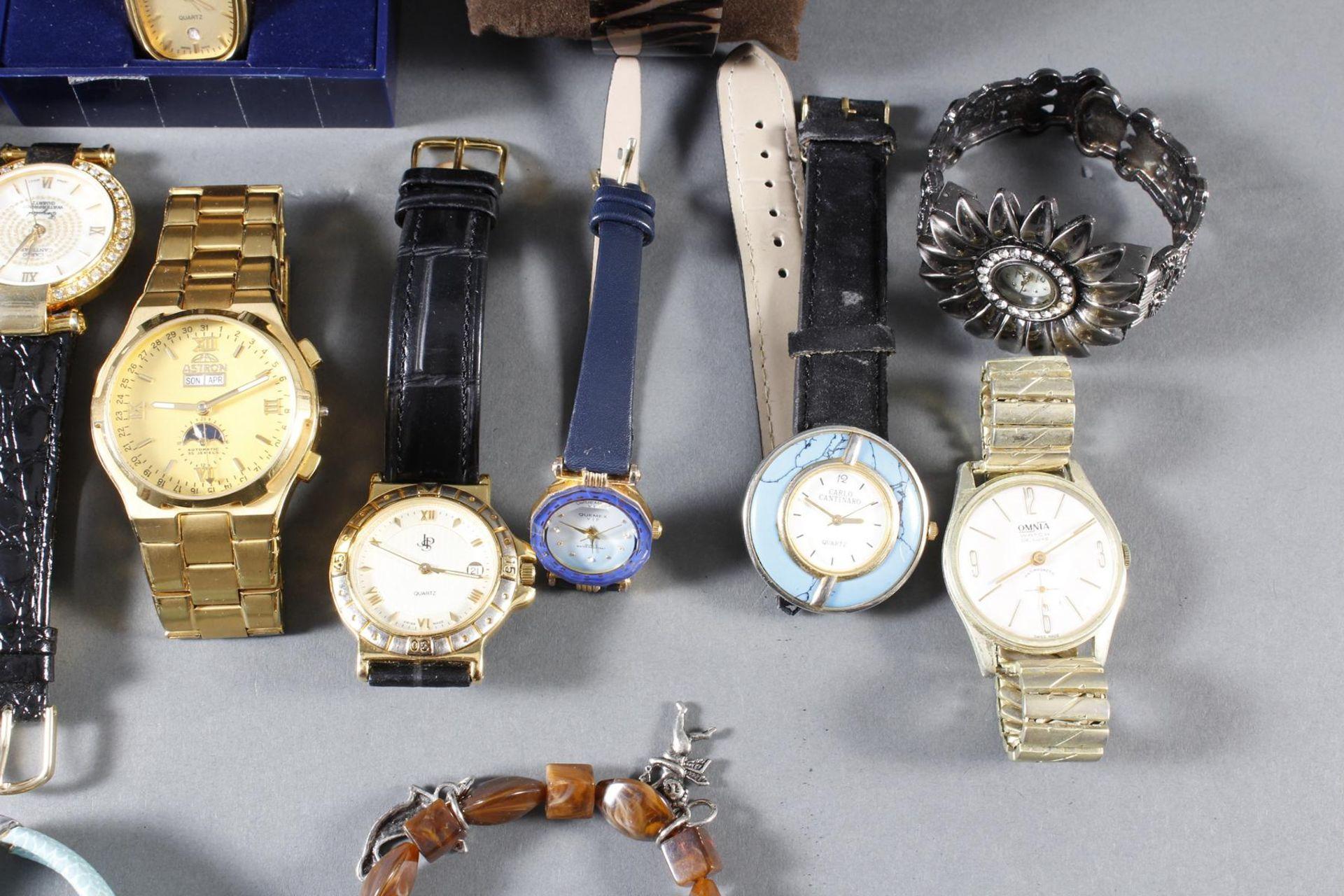Konvolut Damen und Herrenarmbanduhren, 14 Stück - Bild 3 aus 7