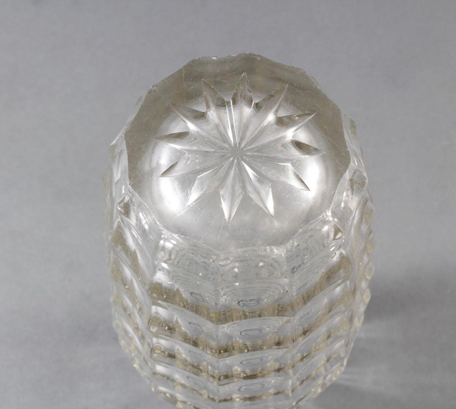 Glas-Ziervase um 1905, Entw. Josef Hoffmann - Bild 3 aus 4
