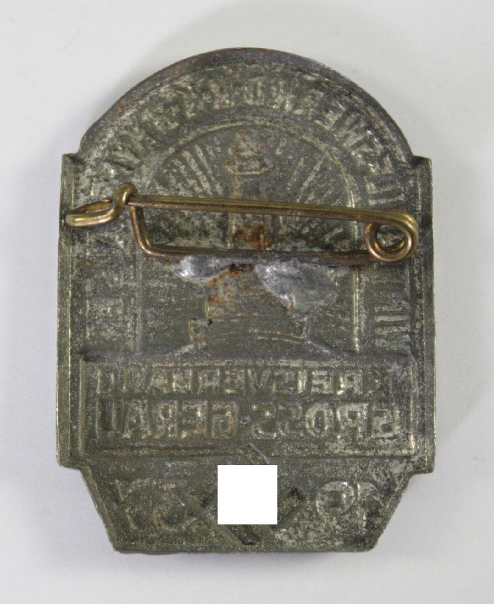 Abzeichen WHW DRKB Kyffhäuser - Kreisverband Gross-Gerau 1937 - Bild 2 aus 2