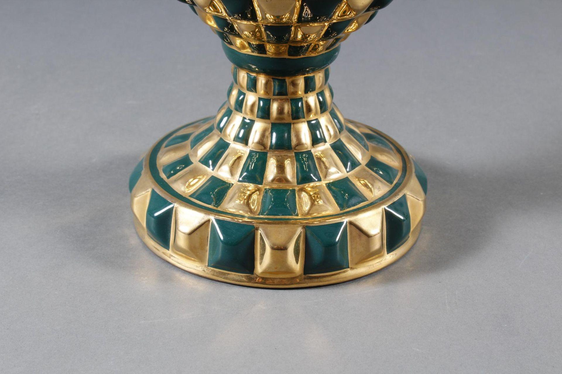Designer-Keramikvase, wohl 1960er Jahre - Bild 2 aus 5