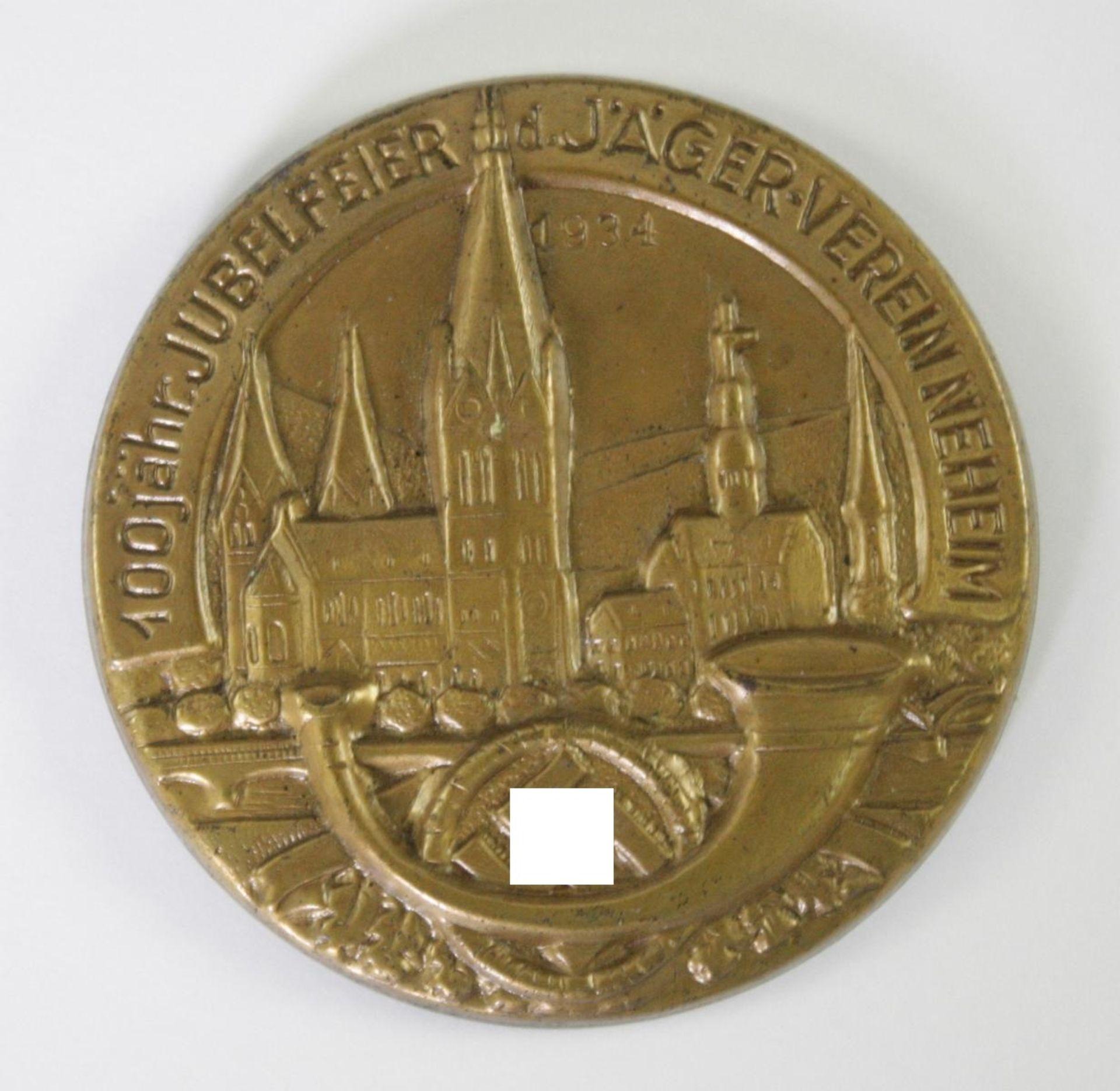 Veranstaltungsabzeichen, 100 jährige Jubelfeier des Jäger-Vereins Neheim 1934