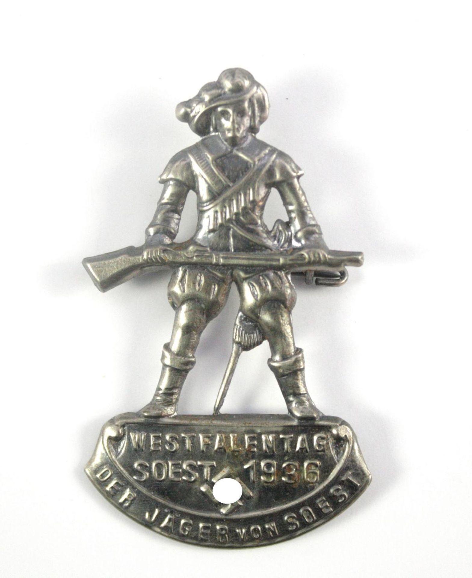 Abzeichen: Westfalentag der Jäger von Soest 1936