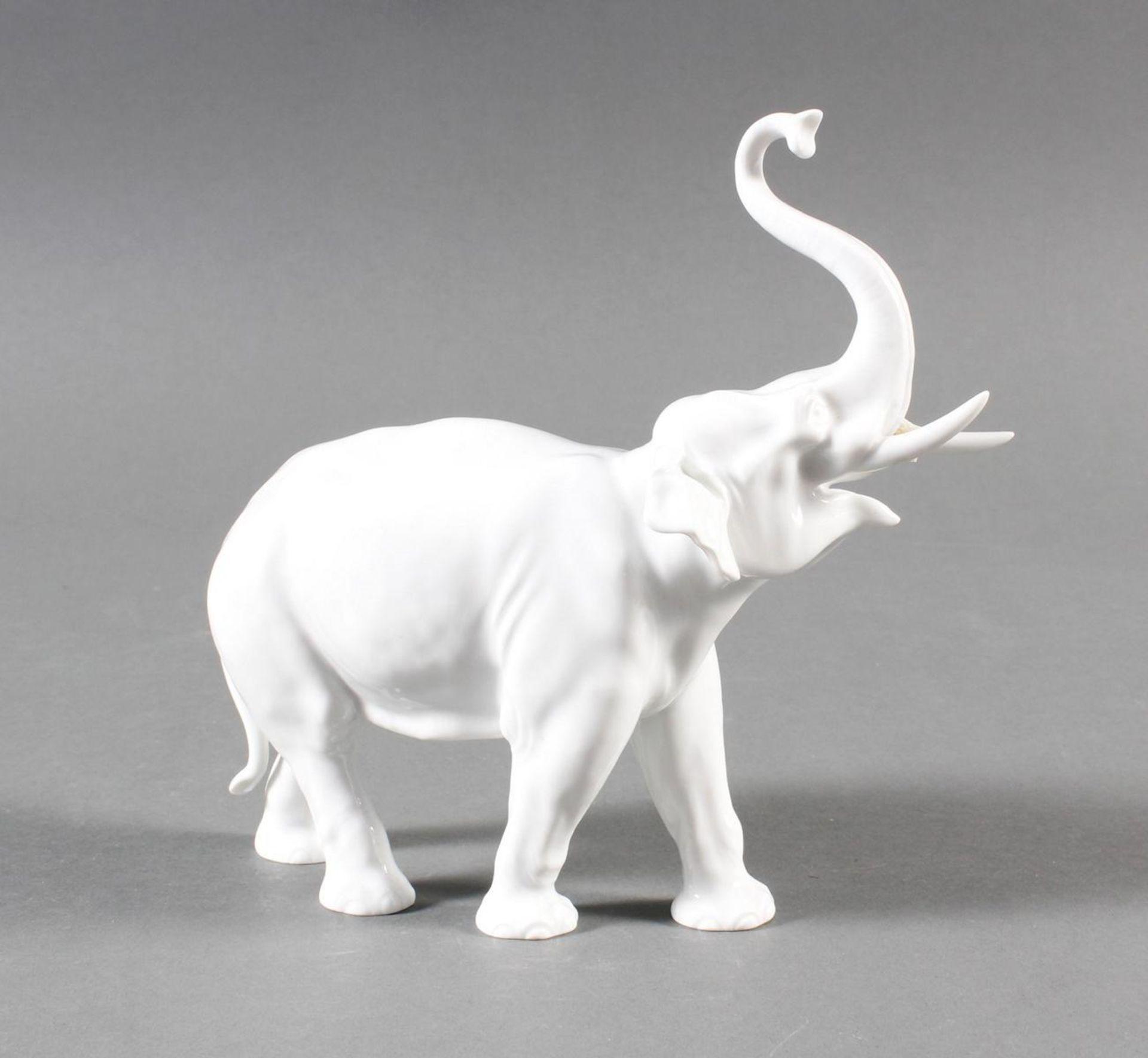 Meißen Elefant um 1940, 1. Wahl - Bild 2 aus 7