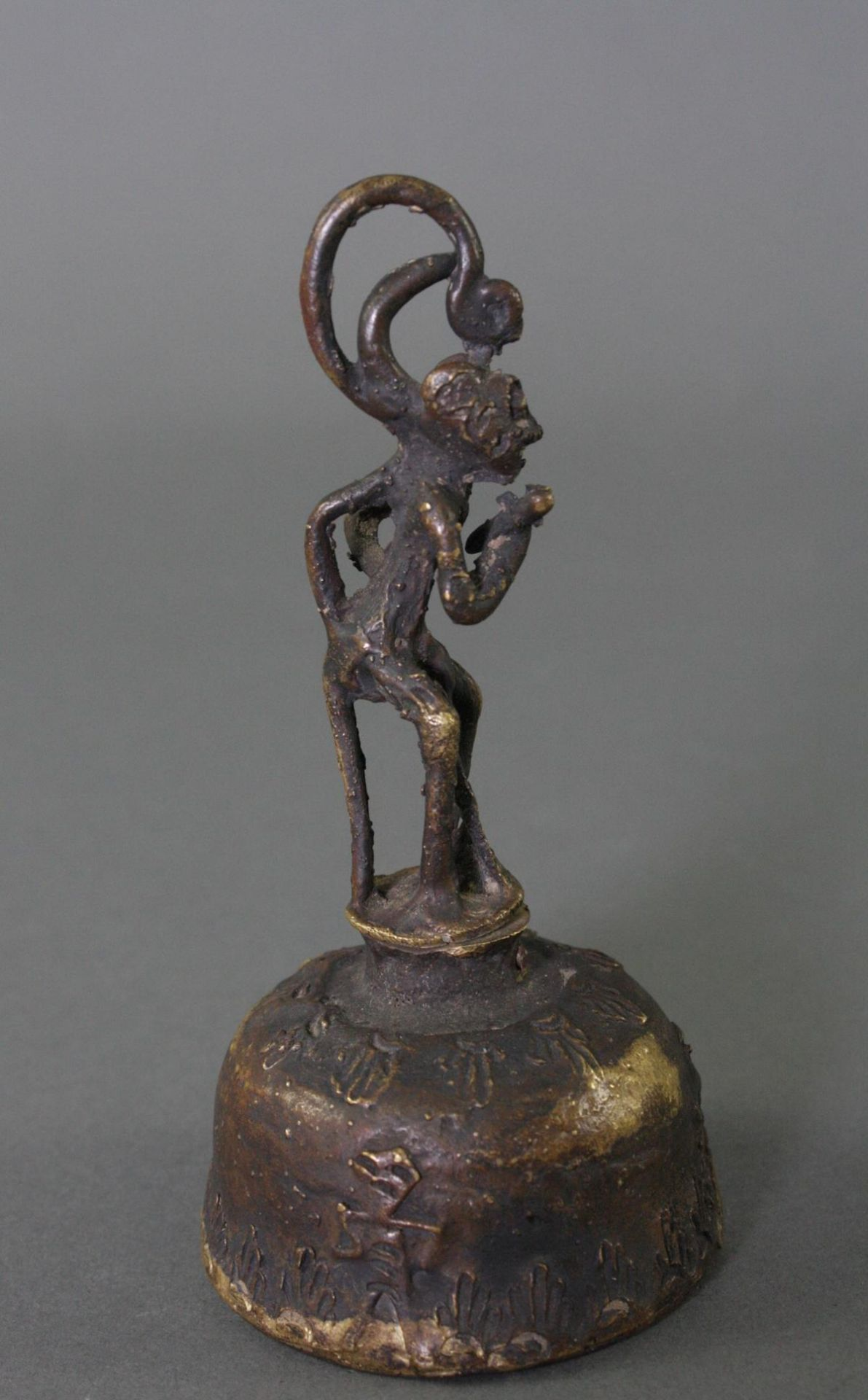 Hanuman-Glocke, Indien 19. Jahrhundert - Bild 4 aus 5