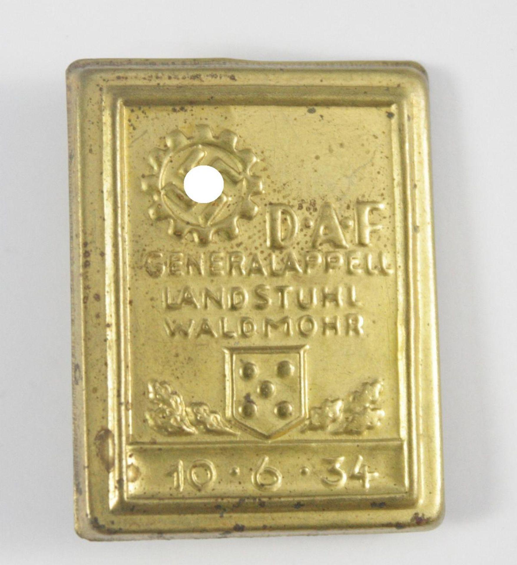 Abzeichen, DAF Generalappell Landstuhl-Waldmohr 1934