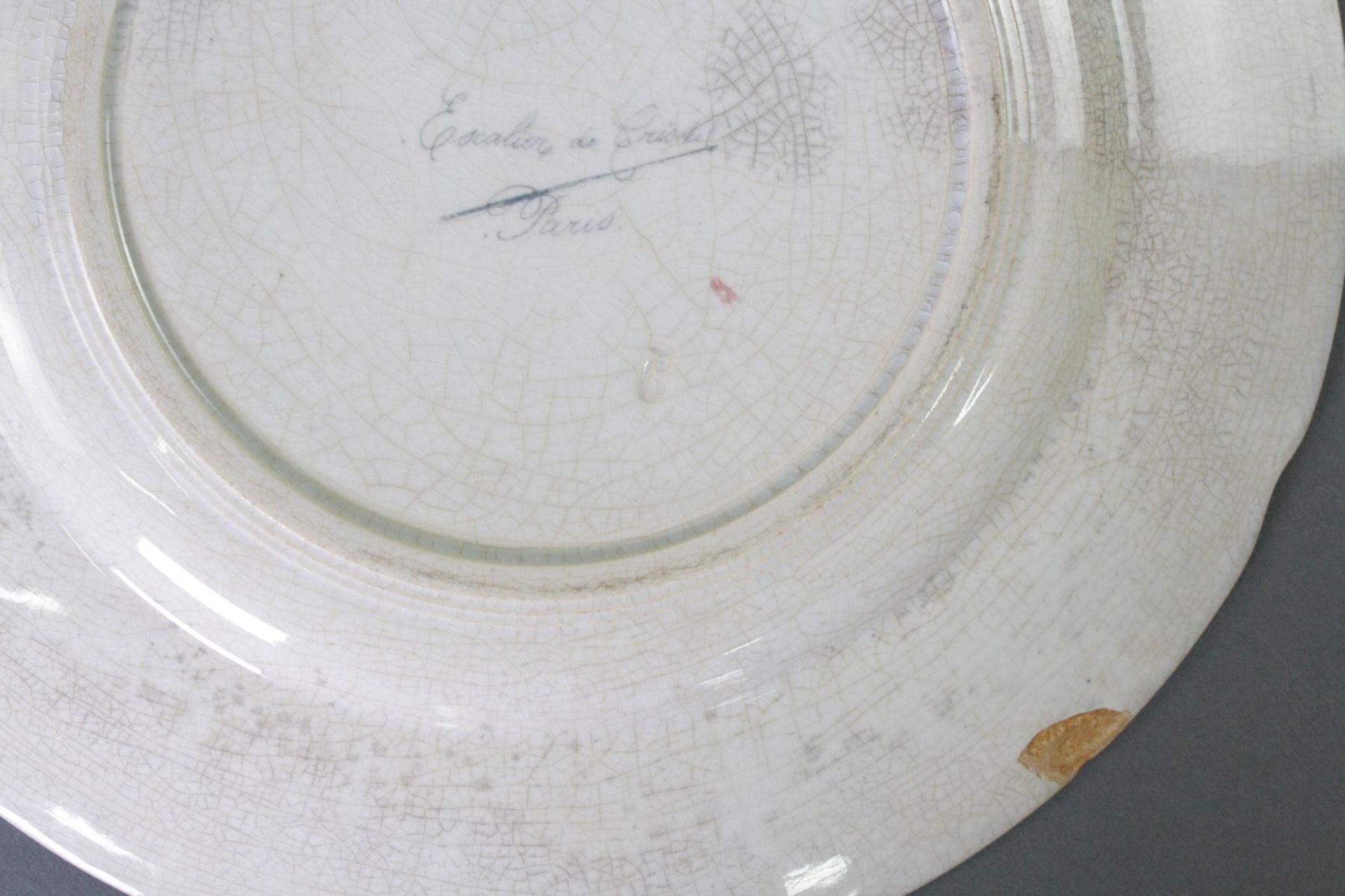 5 Keramikteller, Escalier de Cristal Paris - Bild 4 aus 4