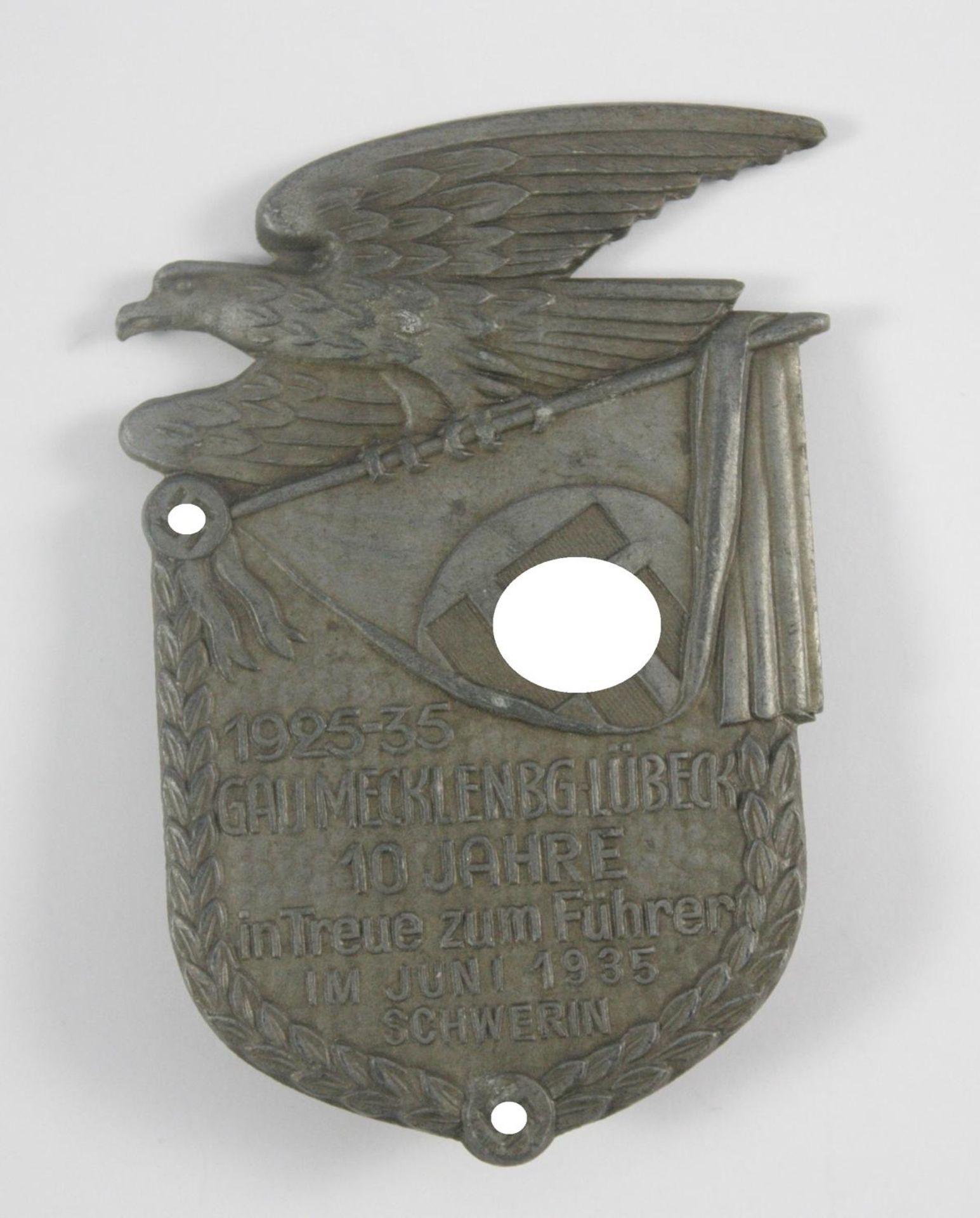 Abzeichen: Gau Mecklenburg-Lübeck, 1925-1935