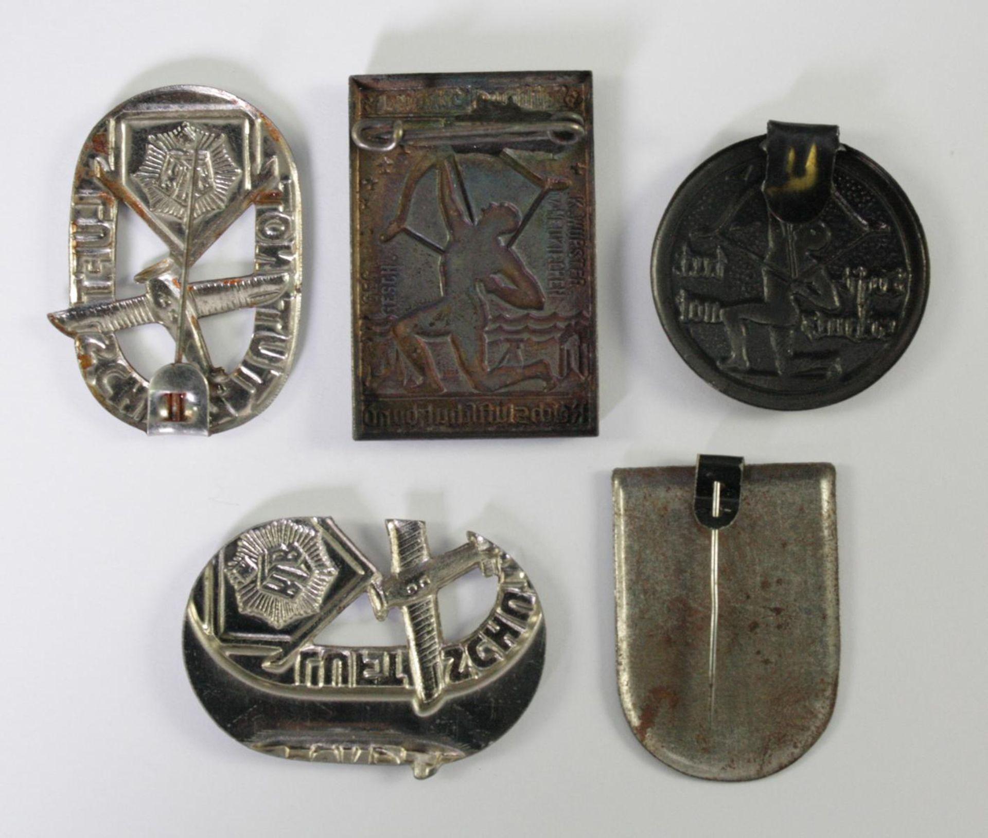 Kleinabzeichen Thema Luftschutz, RLB - Reichsluftschutzbund - Bild 2 aus 2