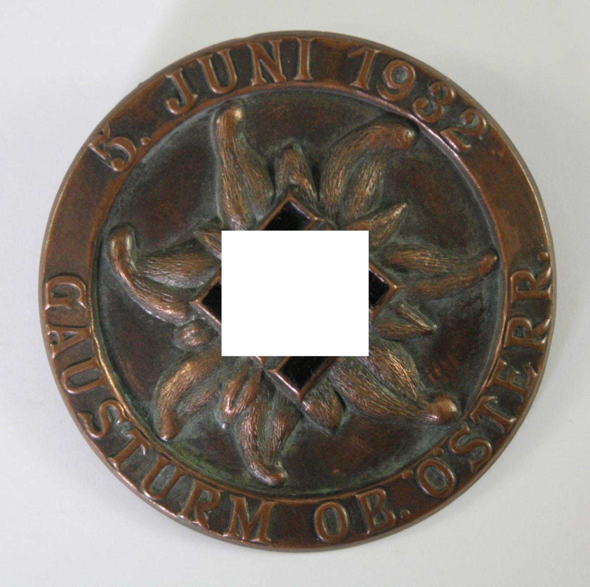 Abzeichen: Oberösterreichischer Gausturm-Tag 5. Juni 1932