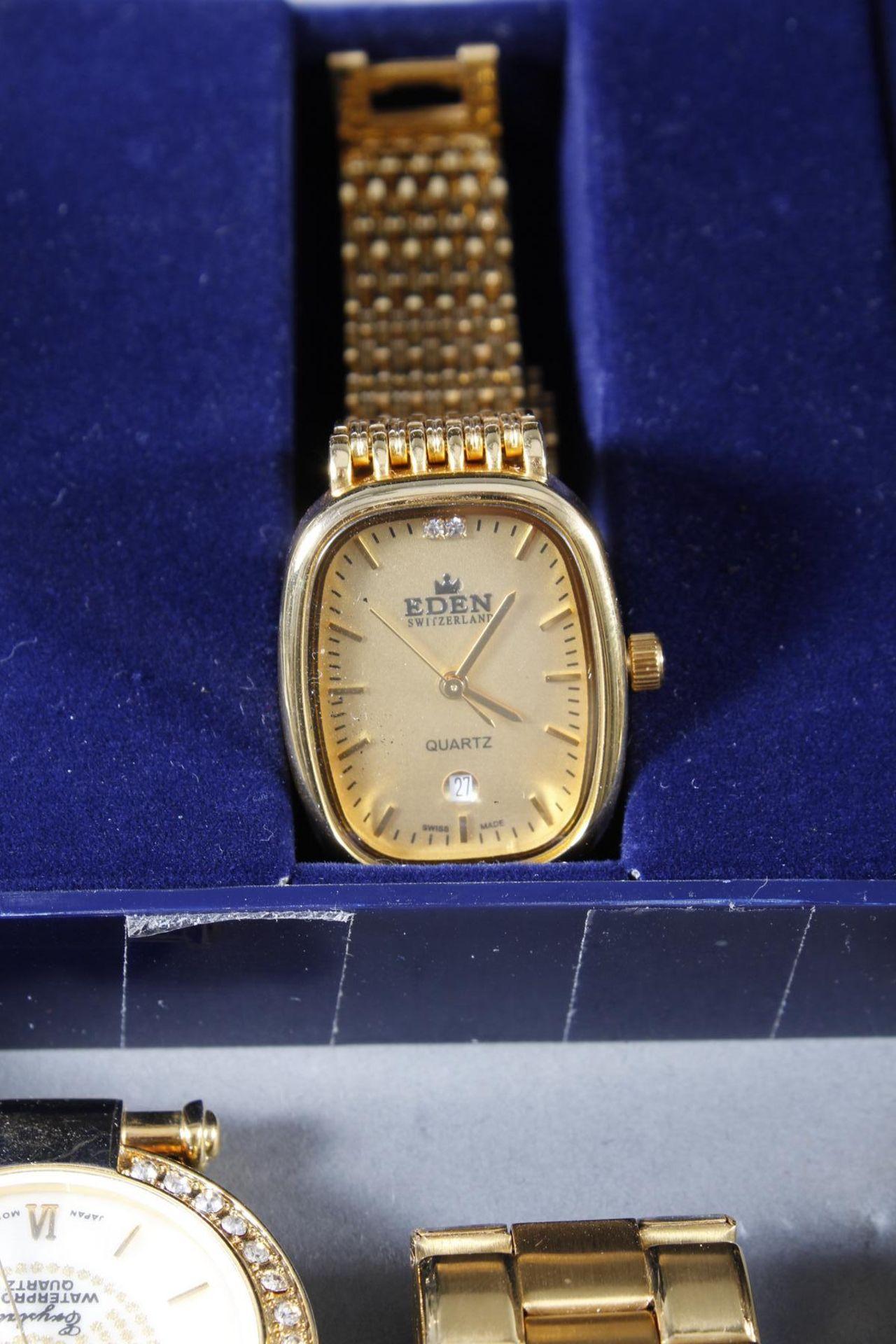 Konvolut Damen und Herrenarmbanduhren, 14 Stück - Bild 6 aus 7