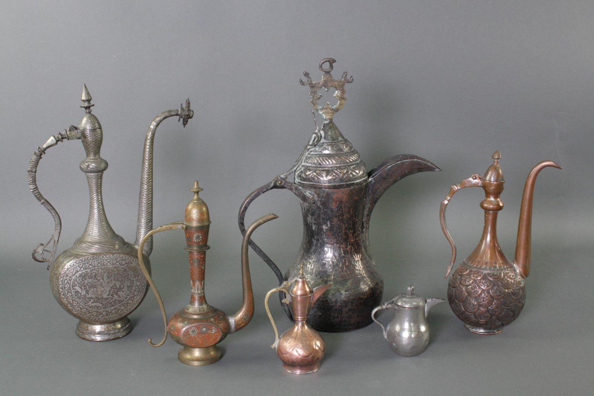 6 Kannen, Iran 19./20. Jahrhundert - Bild 2 aus 13
