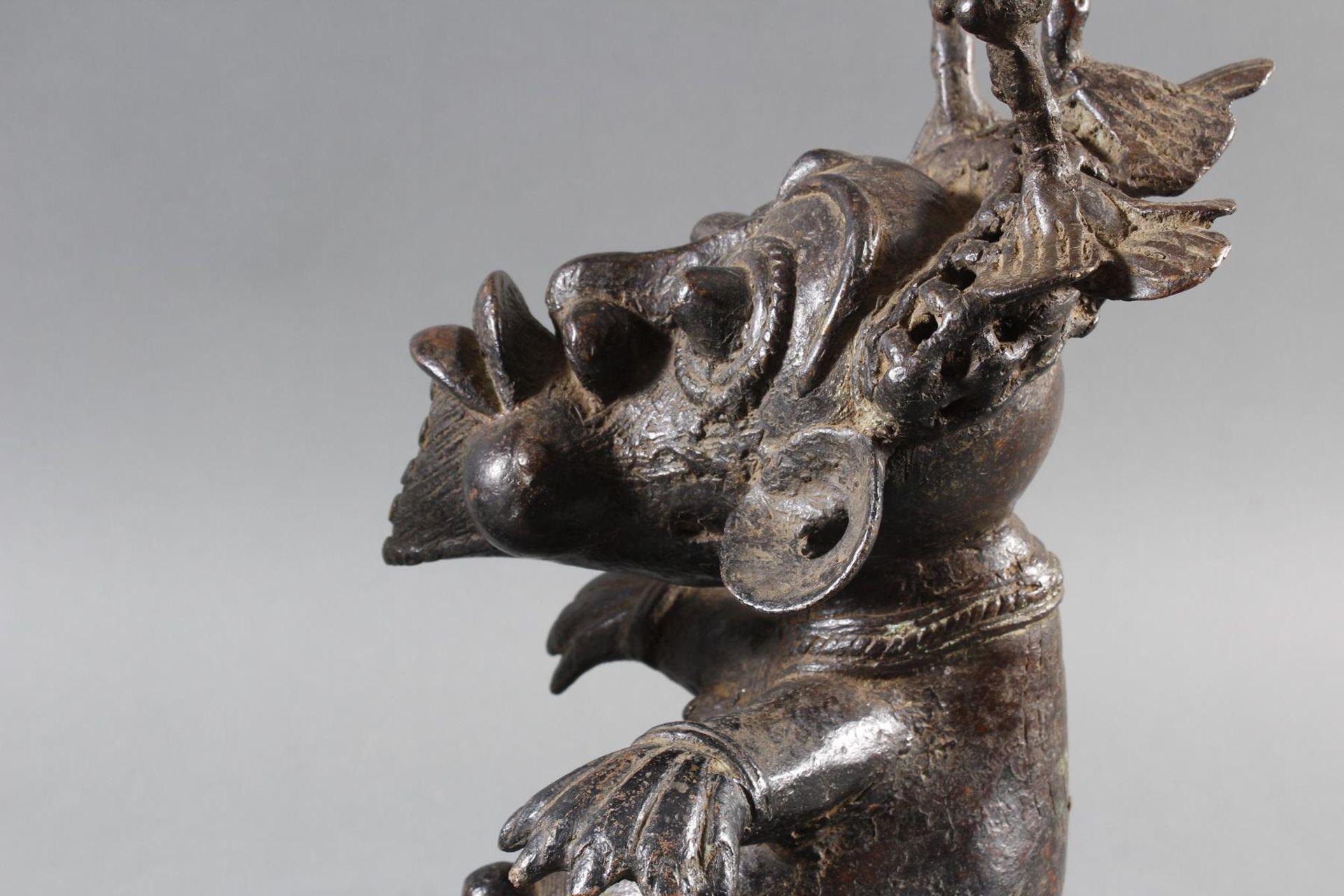Paar Bronze-Hofzwergenpaar, Bamileke / Kamerun - Bild 11 aus 14