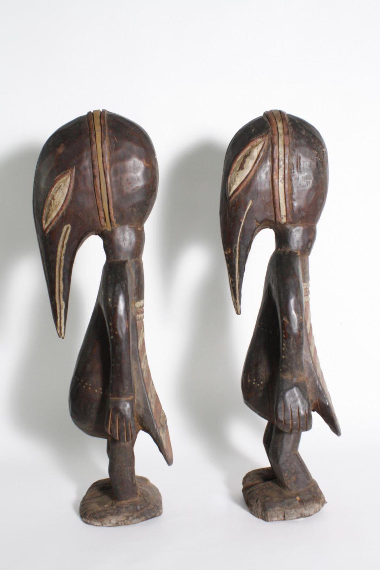 Figurenpaar, Calao , Senufo, Elfenbeinküste, 1. Hälfte 20. Jh. - Bild 2 aus 5