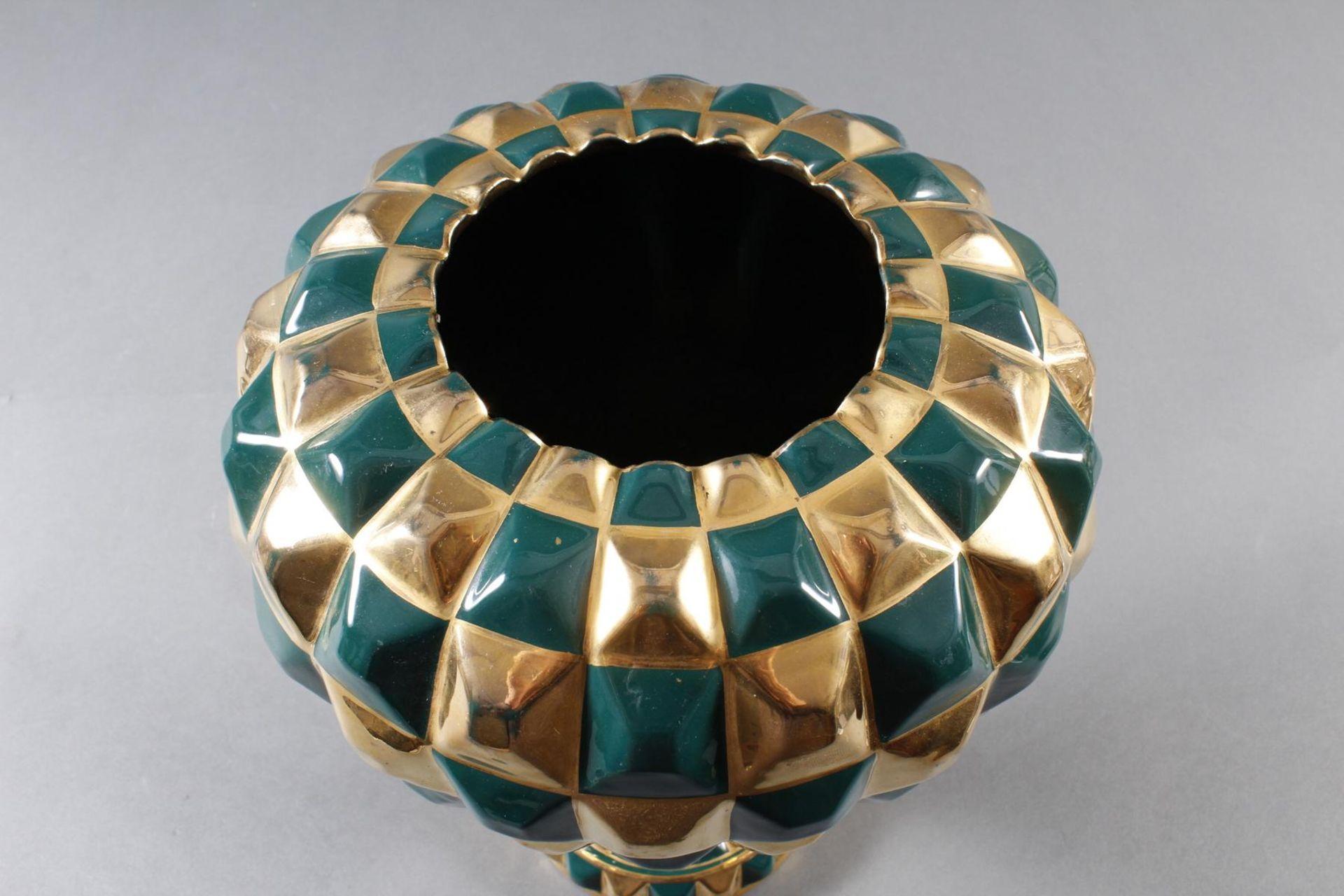 Designer-Keramikvase, wohl 1960er Jahre - Bild 4 aus 5