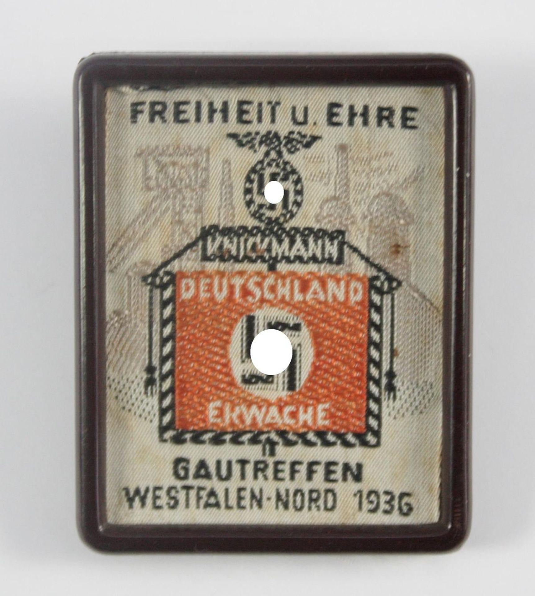 Tagungsabzeichen, Gautreffen Westfalen Nord 1936