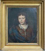 Unbekannter Künstler, Portrait wohl Ludwig XV