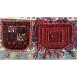 2 Satteldecken, Turkmenisch um 1900