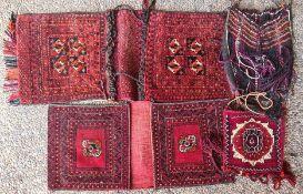 4 Satteltaschen/Doppeltaschen, Iran