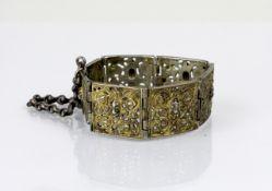 China Silber Armband mit Gesichtern