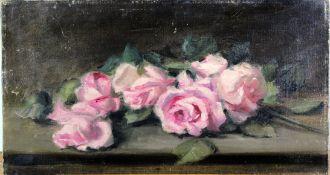 "Henri Fantin Latour ( 1836 - 1904 ) attr.. "" Rosenstillleben """