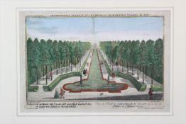 """Karl Remshard """" Ansicht des Kanals in Schloss Nymphenburg """""""