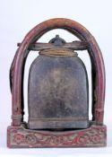 China späte Ming Dynastie Tibetische Glocke