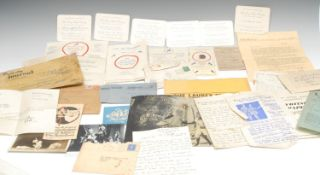 Puppetry - paper ephemera and documents relating to Joy Laurey and Jonathan Laurey Marionette