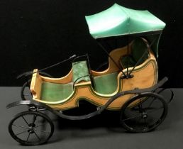A reproduction model motor carriage