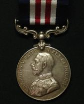 WW1 British Military Medal complete with ribbon re-named to 23829 Dvr. A G Murphy, 8/Sig Tp, RE.