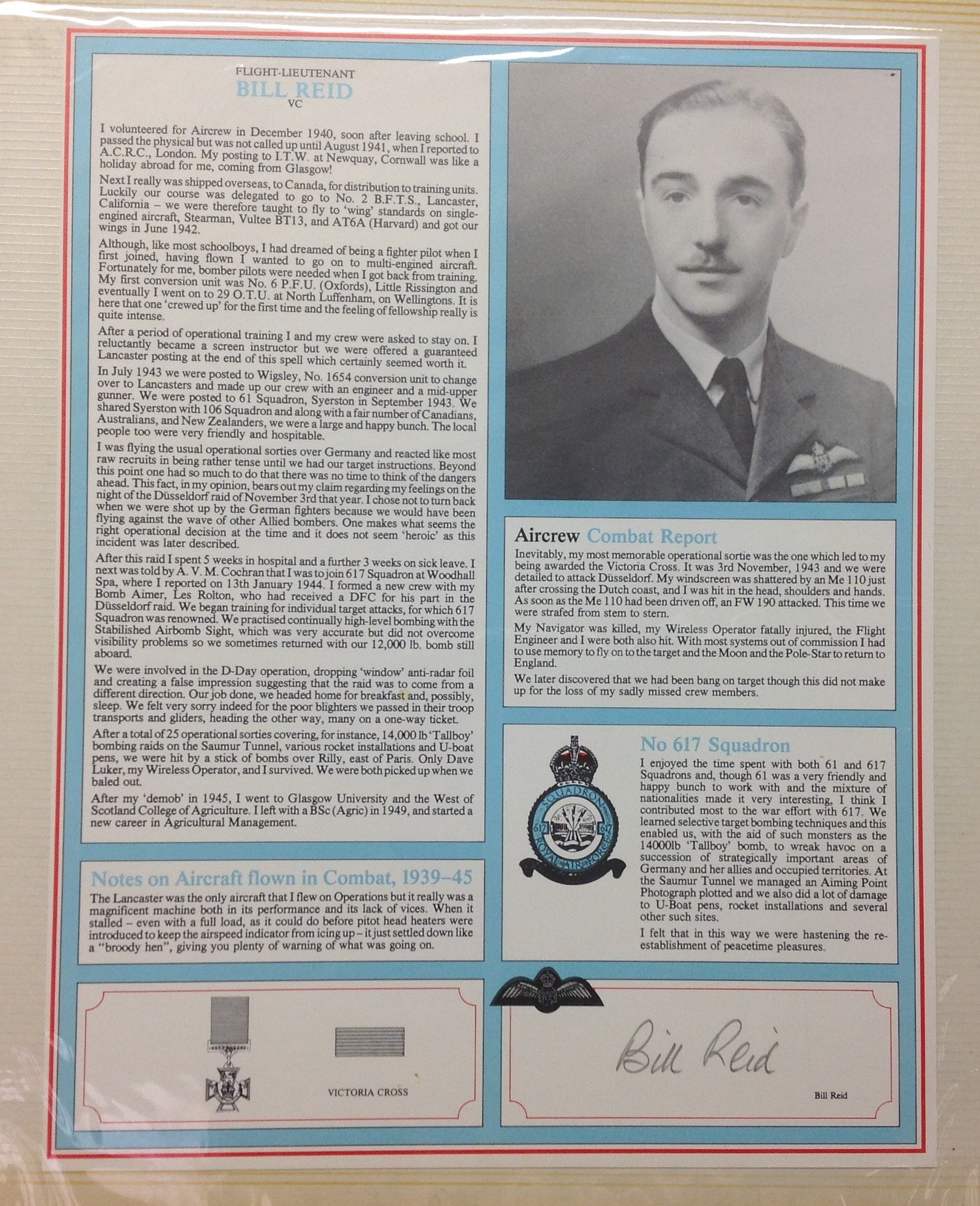 Royal Air Force Fighter Pilot and Bomber Pilot Profile Collection. A limited edition of only 2000 - Image 8 of 10