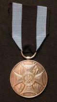 Polish Medal Zasluzonym na Polu Chwalyoland, Medal for Merit on the Field of Glory 2nd Class in