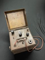 WW2 British Wireless Wavemeter D No1 MkII*, Cat No ZA17469. Complete in original paint and with