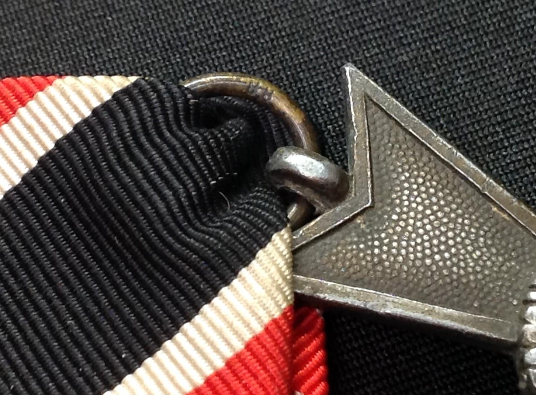 WW2 Third Reich Kriegsverdienstkreuz ohne Schwerten II klasse. War Merit Cross without Swords 2nd - Image 3 of 3