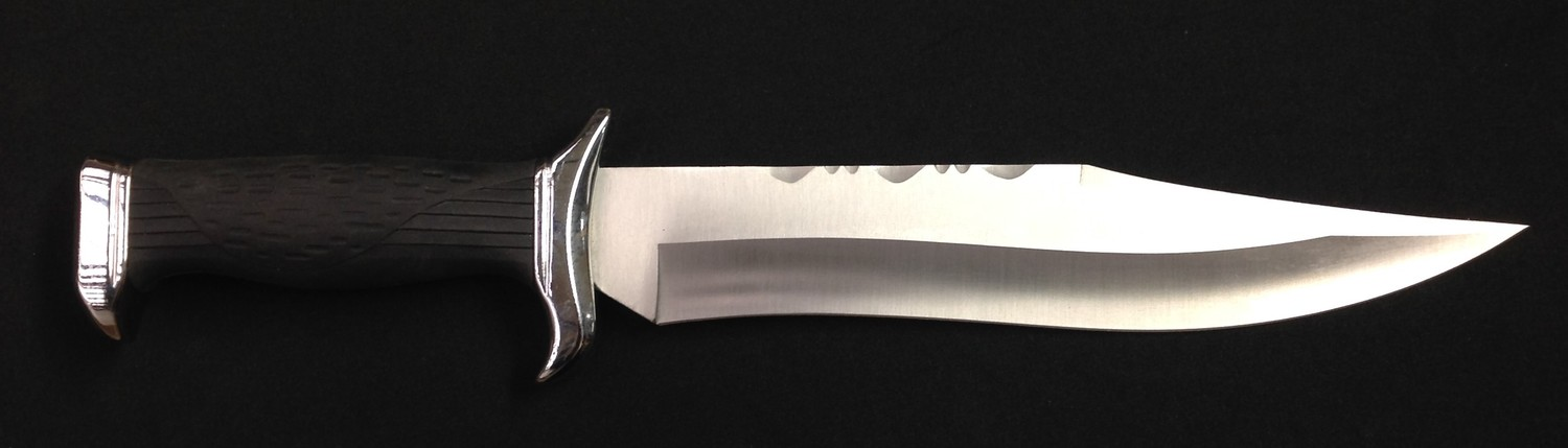 """Bowie Knife with 225mm long blade maker marked """"Nieto 440c Stainless Handcrafted, Spain"""". Width of - Image 8 of 11"""